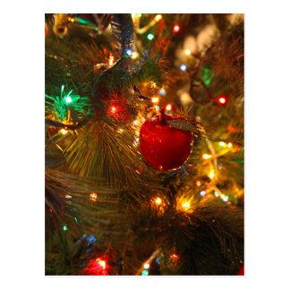 Christmas Tree Decoration Postcard