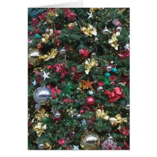 Christmas Tree Decorations Card