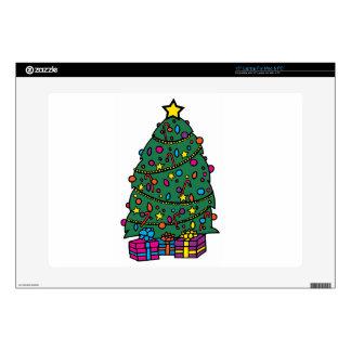 Christmas Tree Decorations Laptop Skins