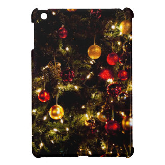 Christmas Tree Decorations Ornaments Lights Case For The iPad Mini