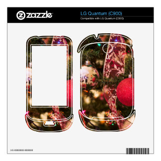 Christmas Tree Decorations Decals For The LG Quantum