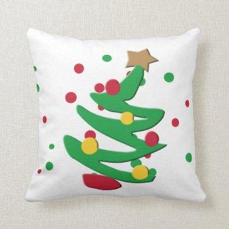 Christmas Tree Decorative Christmas Pillow
