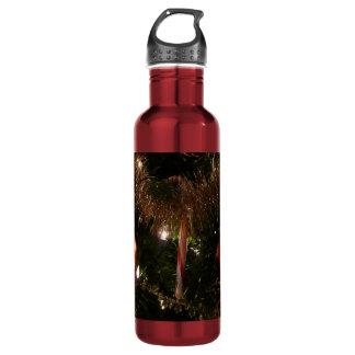 Christmas Tree Design Stainless Steel Water Bottle