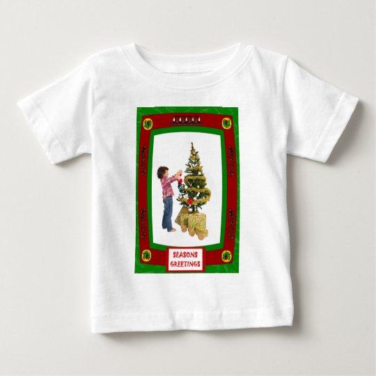 Christmas Tree Designer Baby T-Shirt