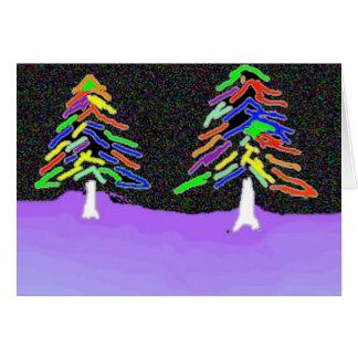 Christmas Tree Doodle Card