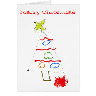 Tree Drawing Greeting Cards  Zazzle