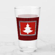 Christmas Tree Drinking Glass