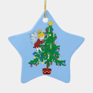 Christmas Tree Elf Ornament