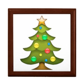 Christmas Tree Emoji Gift Boxes & Keepsake Boxes | Zazzle