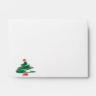Christmas Tree Envelope