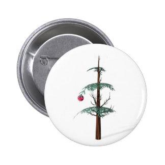 Christmas Tree Fail Pinback Button