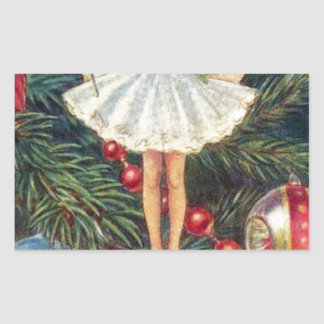 Christmas-Tree-Fairy.jpg Rectangular Sticker