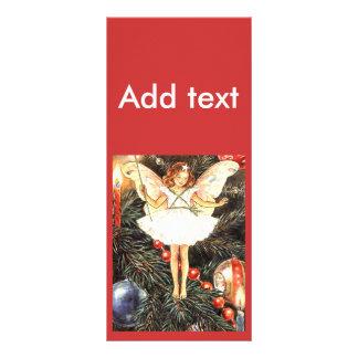 Christmas Tree Fairy Custom Rack Card