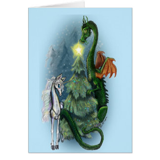 Christmas Tree Fantasy Card