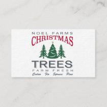 CHRISTMAS TREE FARM BUSINESS CARD