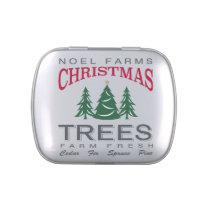 CHRISTMAS TREE FARM CANDY TIN