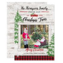Christmas Tree Farm Holiday Photo Card