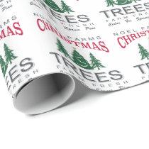 CHRISTMAS TREE FARM WRAPPING PAPER