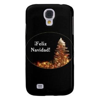 Christmas Tree - ¡Feliz Navidad! Samsung Galaxy S4 Cover