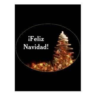 Christmas Tree - ¡Feliz Navidad! Postcard