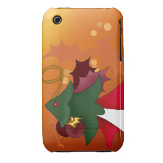 Christmas Tree Fish iPhone 3G 3Gs Case iPhone 3 Case