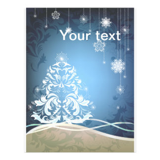 "Christmas tree 8.5"" x 11"" flyer"