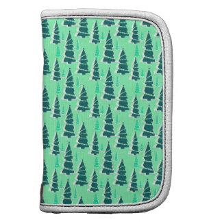 Christmas Tree Forest Pattern Design Organizers