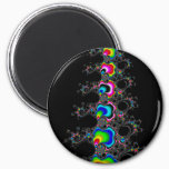 Christmas tree - Fractral Magnet