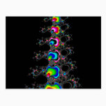 Christmas tree - Fractral Postcard