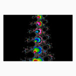 Christmas tree - Fractral Poster