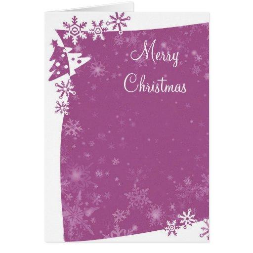 Christmas Tree Frame Card