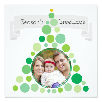 Christmas Tree Frame | Family Portrait Photo Card