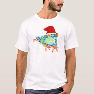Christmas Tree Frog T Shirts
