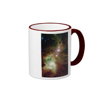 Christmas Tree Galaxy Coffee Mugs