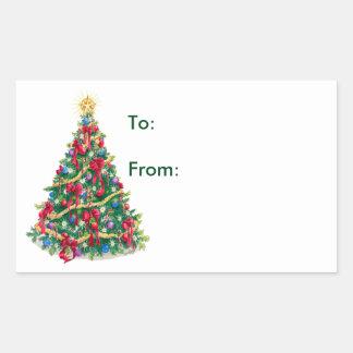 Christmas Tree - Gift Tags
