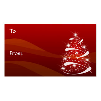 Christmas Tree Gift Tags *TBA 11-3-08 Business Card Template