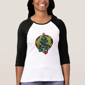 Christmas tree gifts & stained glass window tees