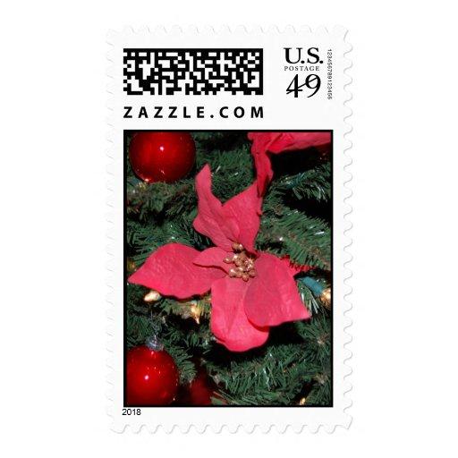 Christmas Tree Glee Stamp