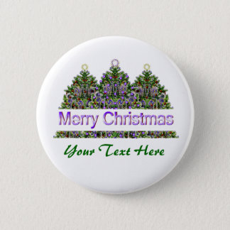 Christmas Tree Glow Button