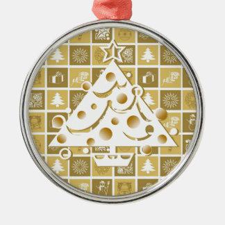 Christmas Tree Gold Ornament