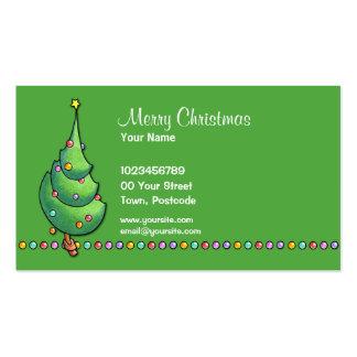 Christmas Tree green2 Business Card
