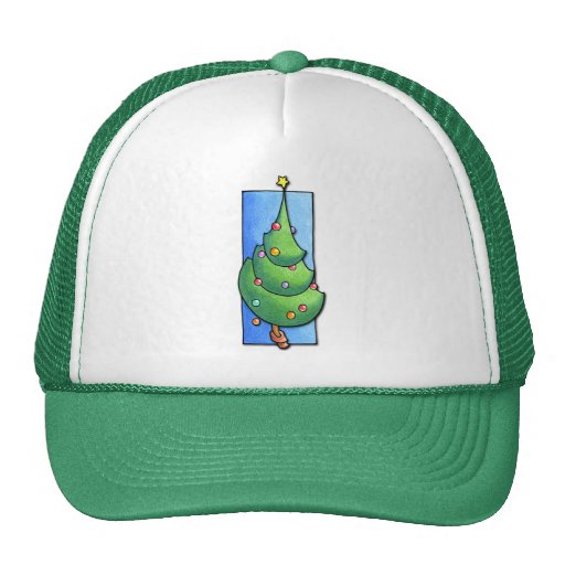 Christmas Tree green Hat