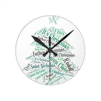Christmas Tree Green.jpg Clock