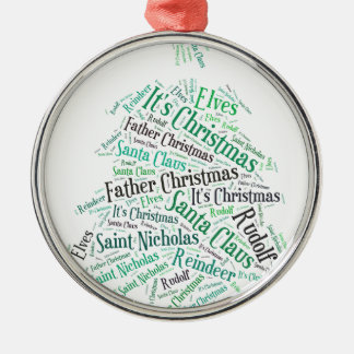 Christmas Tree Green.jpg Metal Ornament