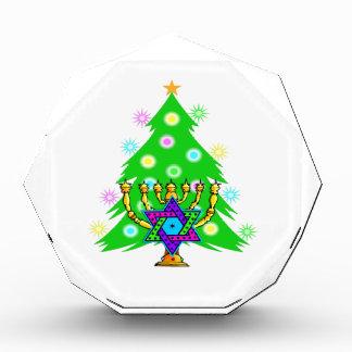 Christmas Tree Hanukkah Menorah Award