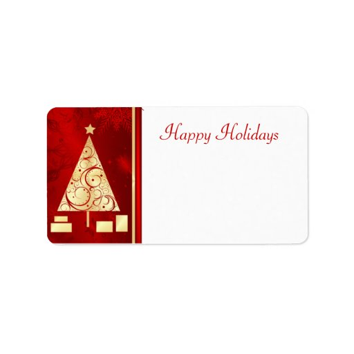 Christmas Mailing Labels Avery | New Calendar Template Site