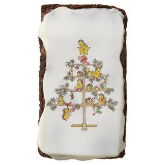 Christmas Tree Hedgehog brownie