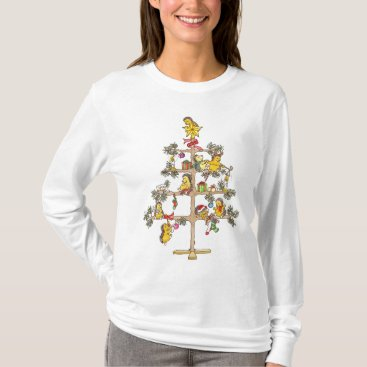 Christmas Themed Christmas tree Hedgehogs T-Shirt