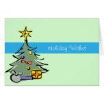 Christmas Tree Holiday Greeting Cards