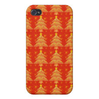 Christmas tree, holiday iPhone 4/4S cases